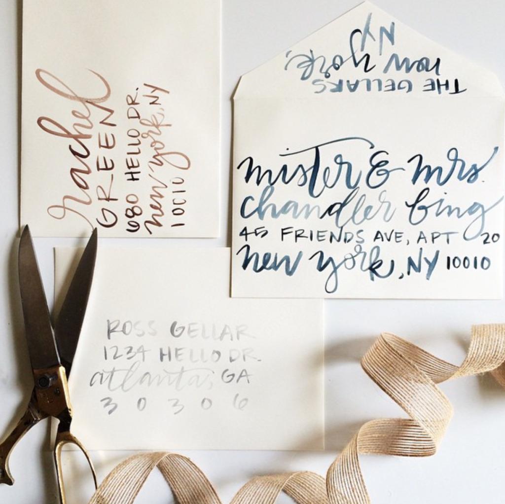 Jenn Gietzen, Calligrapher, Atlanta, Lettering, Artist, Event Invitations