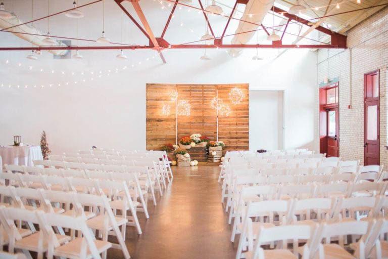 Chancey Charm North Carolina Wedding Venue Highlight, Chancey Charm Charlotte, Market Hall