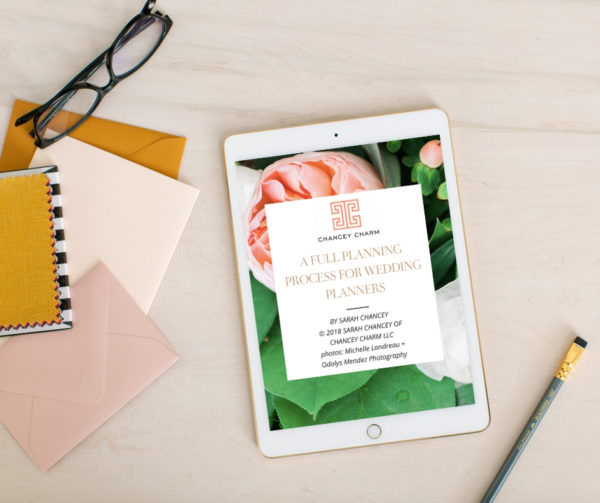 full planning and design for wedding planners, full planning and design guide, wedding planning guide