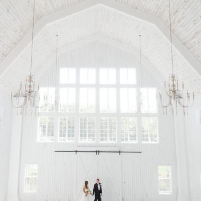 Texas White Barn Wedding Inspiration | Featured on The Southeastern Bride