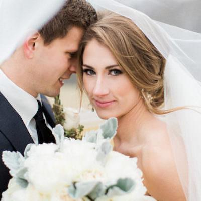 Classic Charlottesville Winter Wedding | Featured on Black Tie Bride