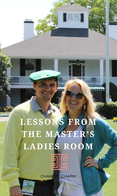 In this month's Sarah's Style post, I'm sharing lessons learned from the Master's Ladies Room. Hint: It's all about guest experience! Plus, get access to my FREE wedding vendor workshop. #creativebusinessteamstrategy #creativebusinessteamgrowth #weddingvendorteamtraining #weddingvendoreducation #chanceycharm