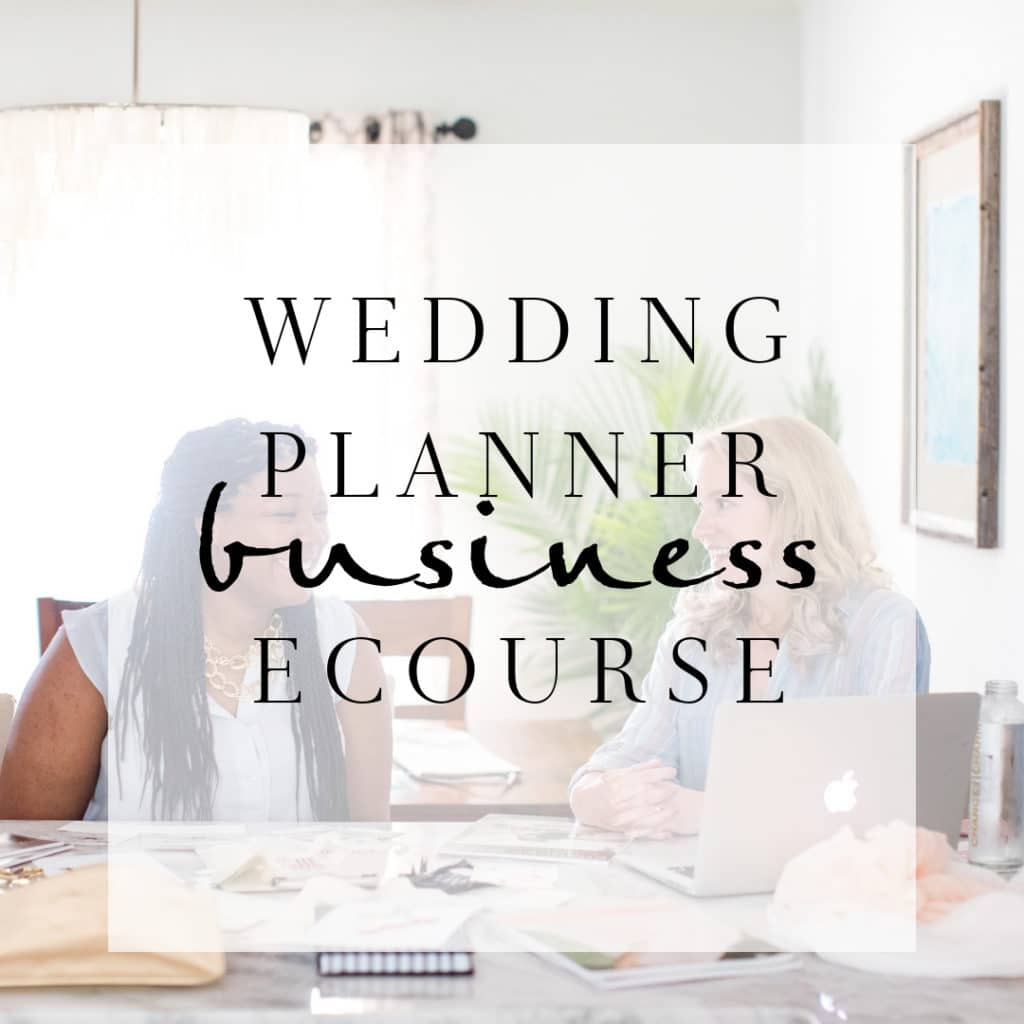 Ecourse Launch A Profitable Wedding Planing Career Chancey Charm