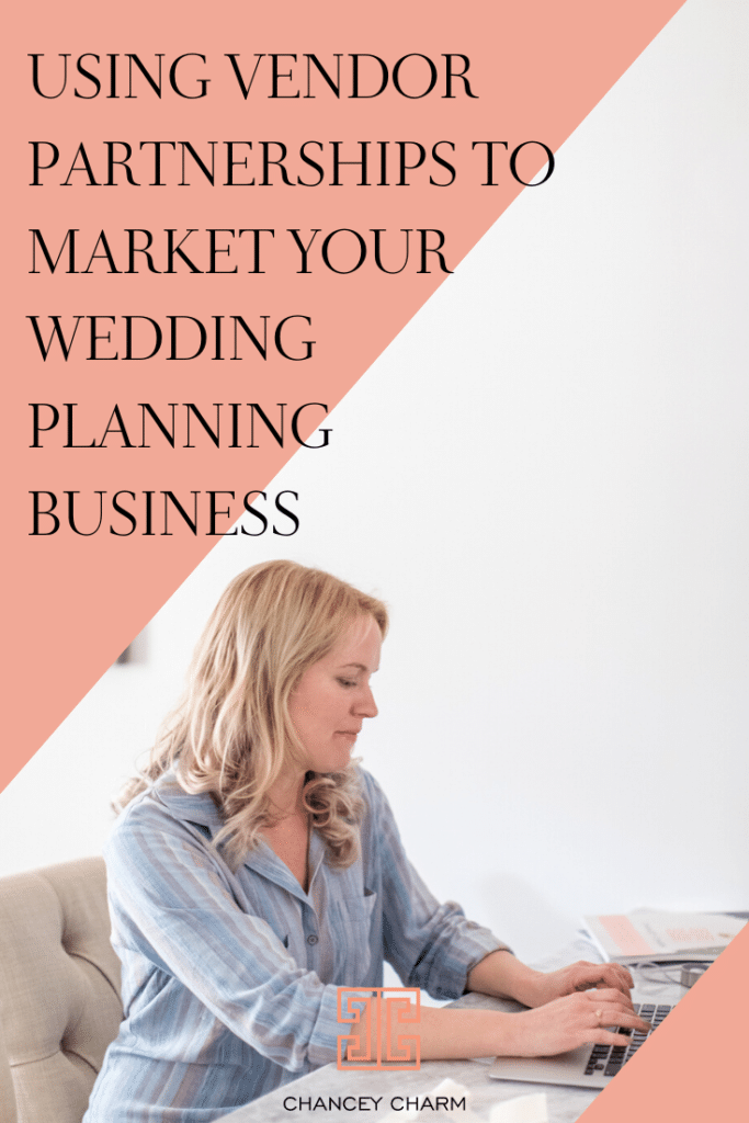 I'm a firm believer in the sweet spot, where online leads + referrals collide. Today's post has one focus: vendor partnerships! #weddingplannermarketing #howtobeaweddingplanner #weddingplannerbusiness