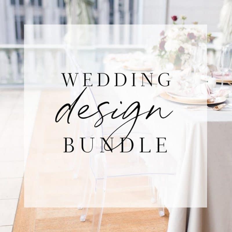 wedding planner design training