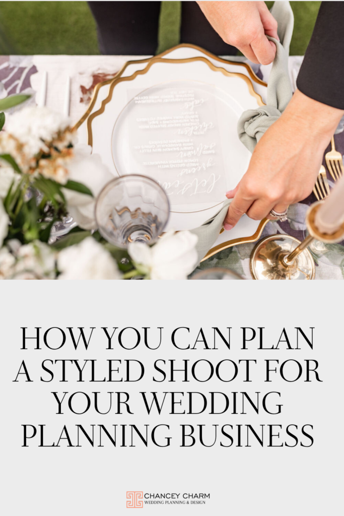New free training video from Sarah Chancey which lays out the most important steps for planning a styled shoot that will create images that will build your portfolio and attract your ideal client.