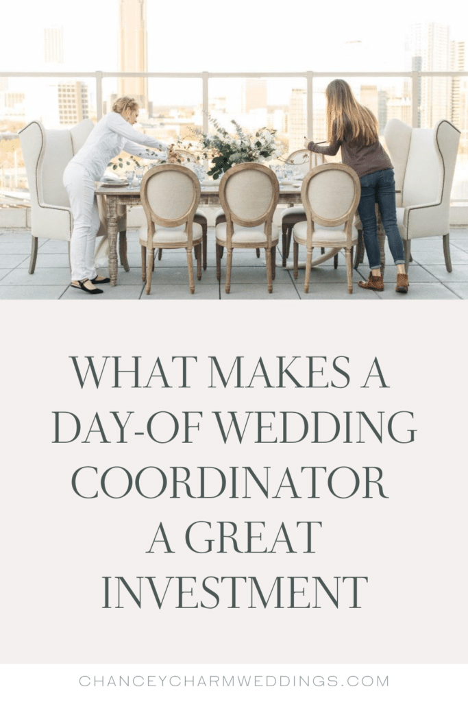 We're talking all about day-of wedding coordinators and what makes them a great investment for planning your wedding.