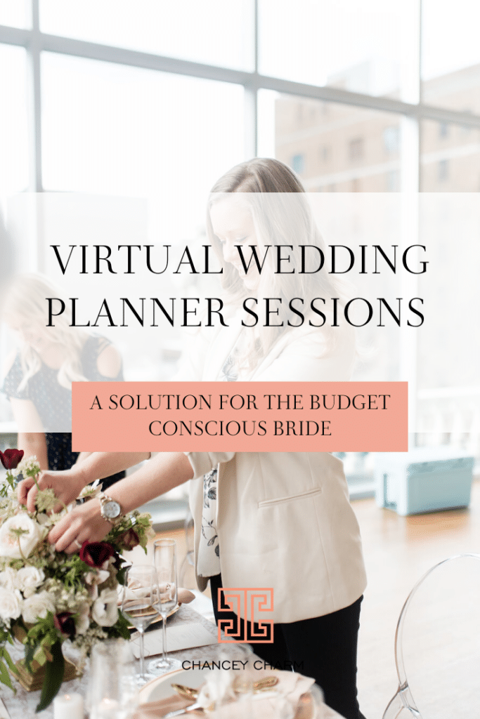 Our 1-On-1 Virtual Wedding Planner Sessions make accessibility to a professional wedding and event planner easy and affordable. #Virtualweddingplanner #weddingplanningadvice #weddingplanning #diybride