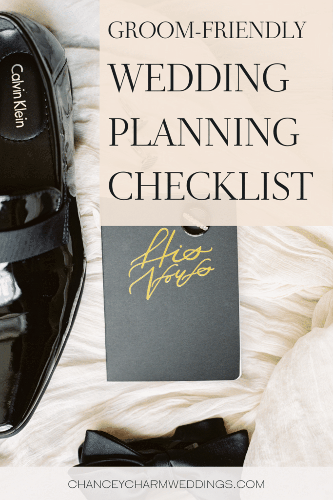 We hear ya, husbands! You're excited to get married, but have no clue how to help plan the wedding. Here are a few groom-friendly wedding planning tasks!