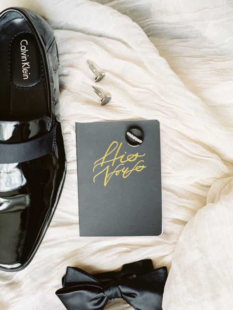 Atlanta wedding, Groom vows, men's shoes