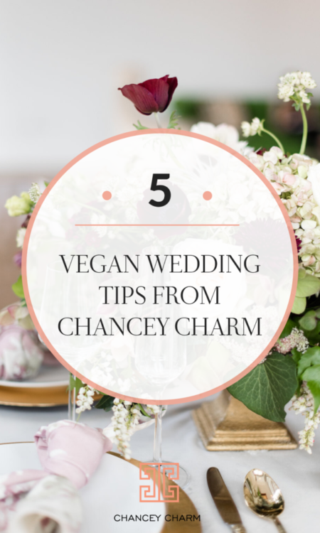 When Chancey Charm was featured onSheFinds.com sharing vegan wedding planningtips, wecouldn't waitto share more insight with Chancey Charm brides right here on the blog! #veganwedding #weddingplanningtips #chanceycharm