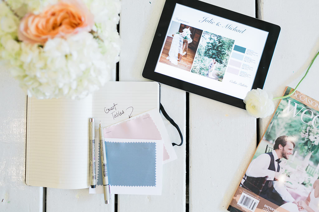 The Chancey Charm team is sharing some fun ways to continue wedding planning virtually during the coronavirus outbreak. #weddingplanningtips #planningawedding #virtualweddingplanning