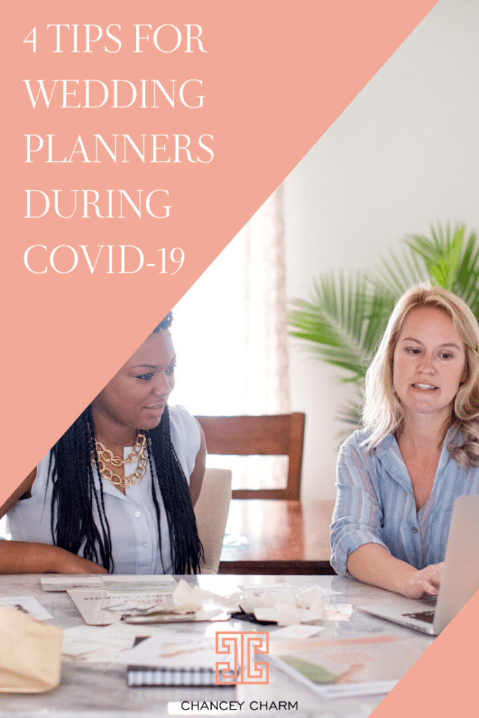 wedding planner education, wedding planners, coronavirus, covid-19, 4 tips for wedding planners during covid-19