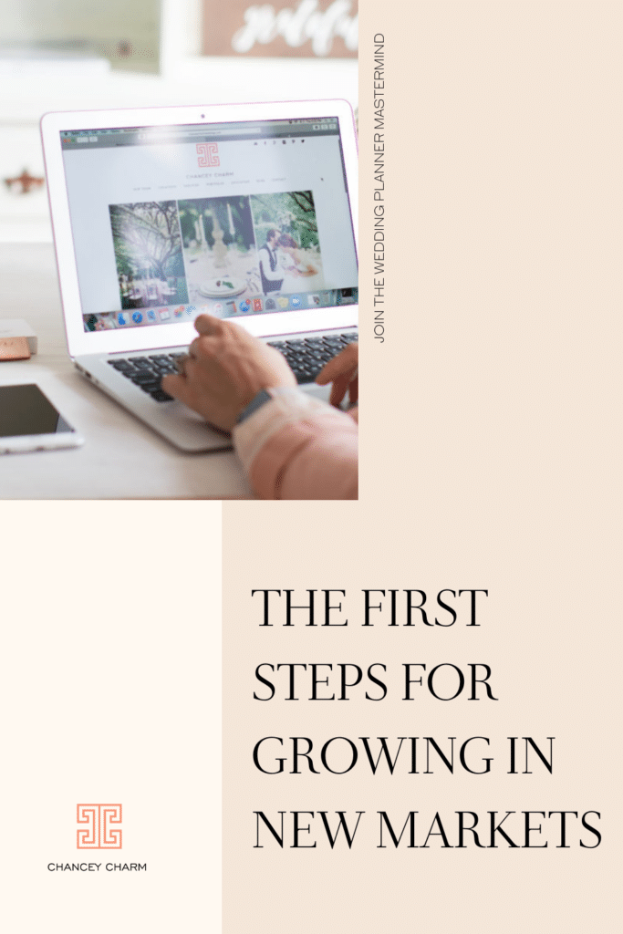 Founder of Chancey Charm Weddings is sharing the first steps to consider when expanding to different locations. Also get access to her team growth and location expansion guide.