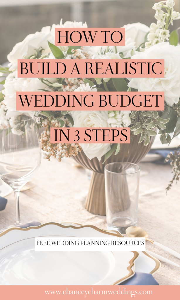 We have put together 3 steps to follow that will help couples set, and stick to, a realistic wedding budget. Plus we include some pro tips from our lead planners that you won't want to miss. #weddingbudgettips #weddingbudgetguide