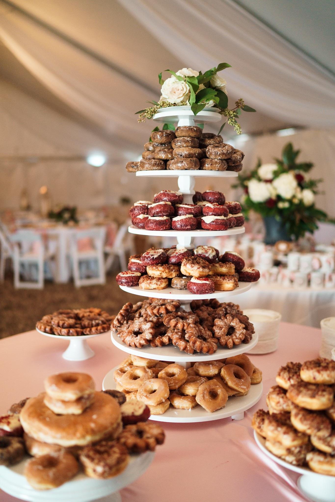 Wedding desert table