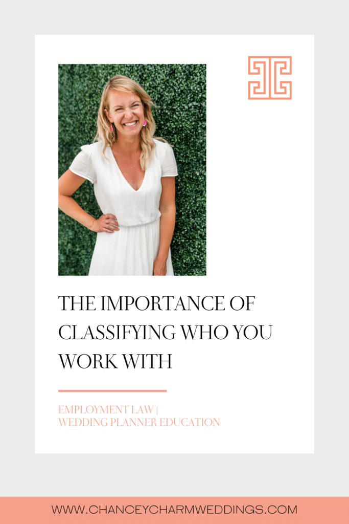 Correctly classifying people you work with is super important to the health of your business! Learn more about employment law in this month's Sarah's Style.