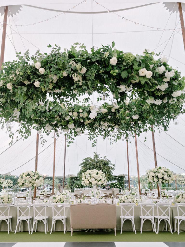 Luxury wedding reception design