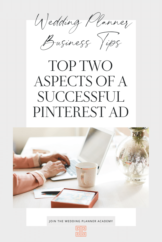 I have found that Pinterest is a great place to spend my advertising dollars to gain brand awareness and traffic for Chancey Charm. Today, let's dive into what has proven to be successful when it comes to the top two aspects of a successful Pinterest Ad!