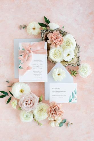 dallas wedding planner and designer - invitation suite