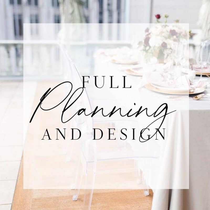 full planning and design guide for wedding planners