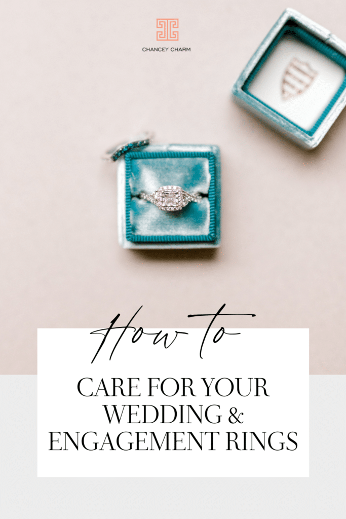 Whether you're newly engaged or a newlywed, you'll want to make sure your rock(s) are well cared for. We've put together some basic how-tos of at-home engagement and wedding band care.