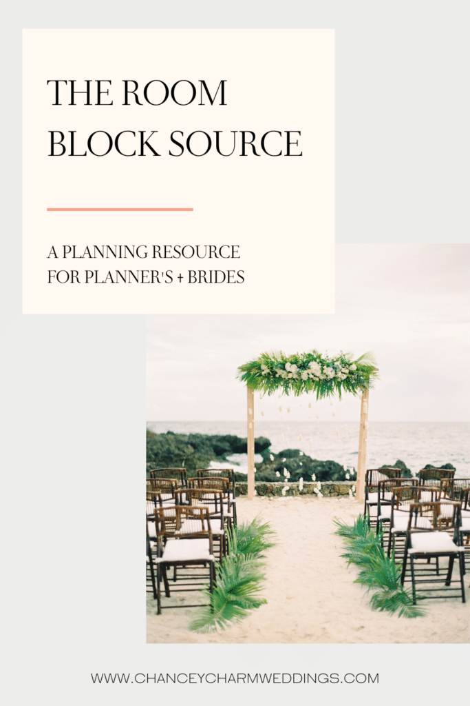 Interview with the Room Block Source, a resource for Wedding Planners. They assist in finding and contracting the right hotel(s) for wedding room blocks, and also assist in finding destination hotels for weddings and events all over the world.