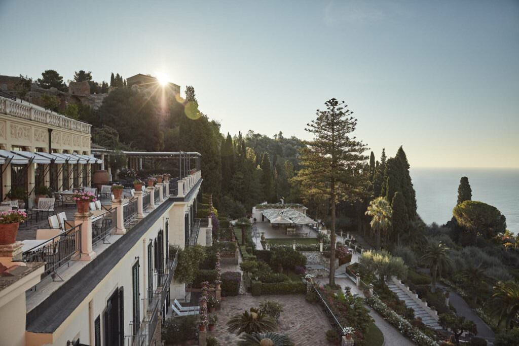 Belmond Grand Hotel Timeo, Sicily. How to get married in Europe.