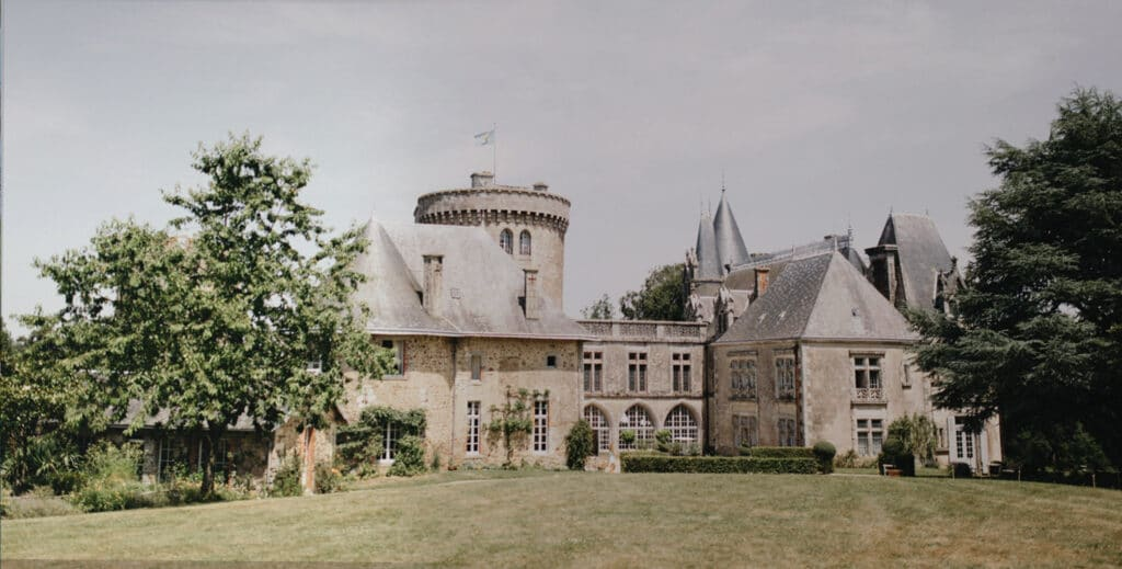 Via Chateau Bee La Flocelliere, France. Planning a destination wedding in Europe.