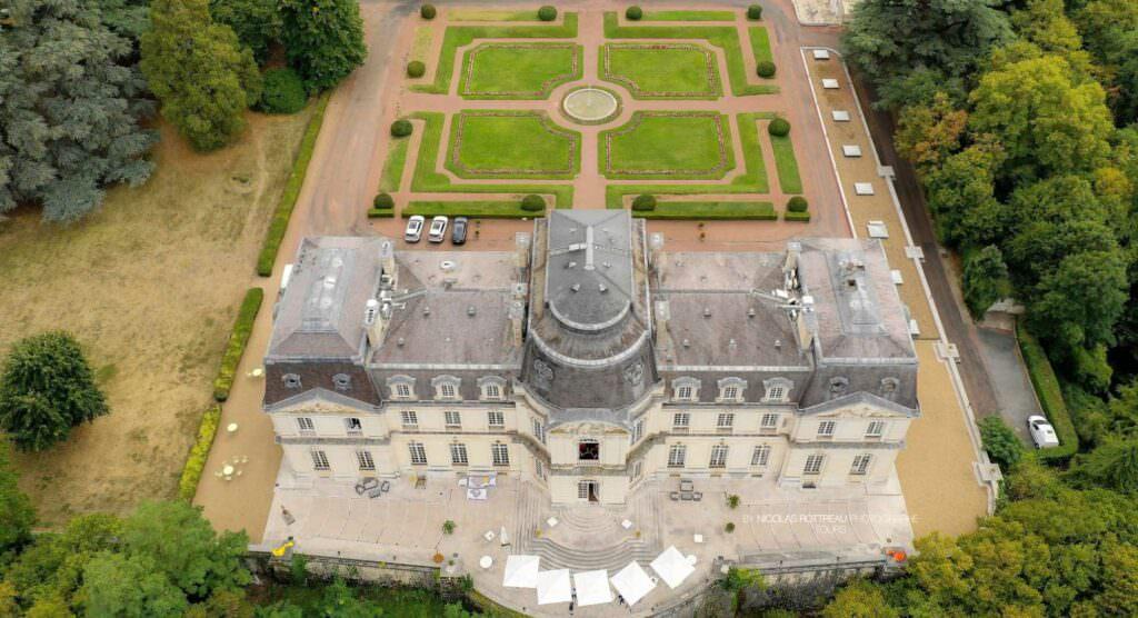 Chateau Artigny Exterior, France