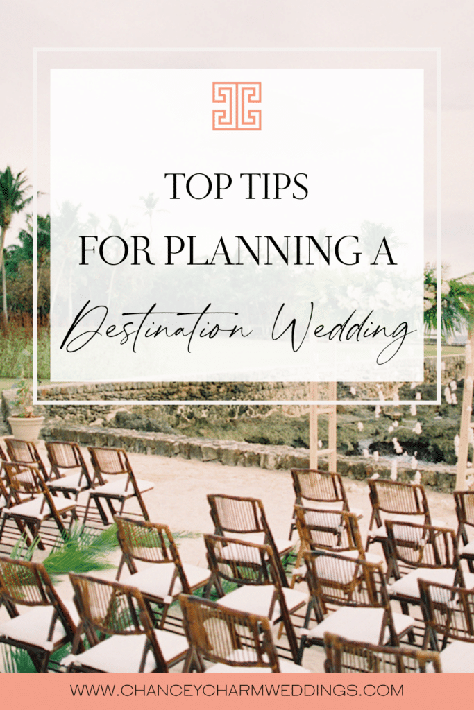 We are breaking down some top tips for planning a destination wedding. #destinationweddingtips
