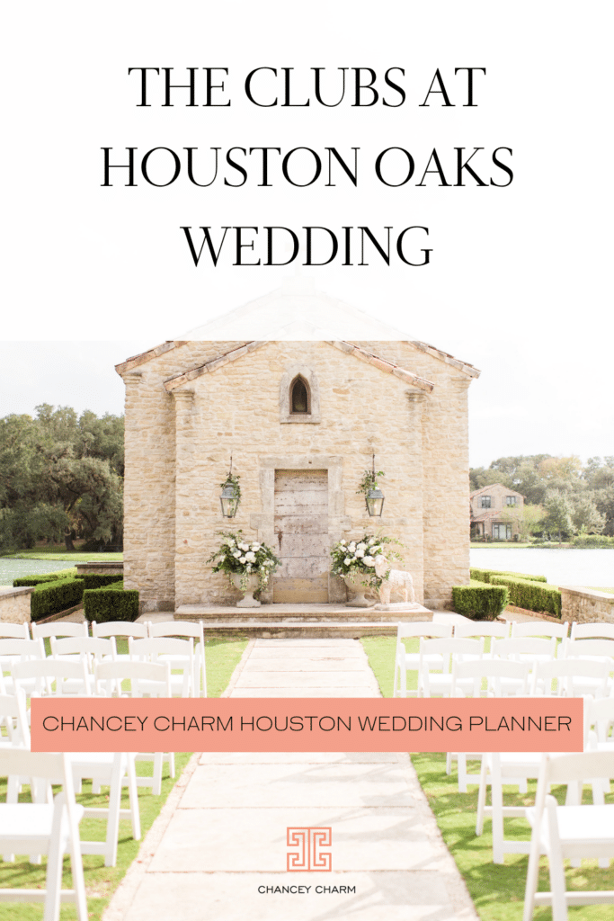 The Clubs at Houston Oaks Wedding   Houston wedding inspiration, planned and designed by Chancey Charm Houston.